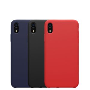 قاب محافظ سیلیکونی آیفون Silicone Smooth Cover | iphone XR