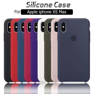 قاب محافظ سیلیکونی اپل Silicone Cover | iphone XS Max