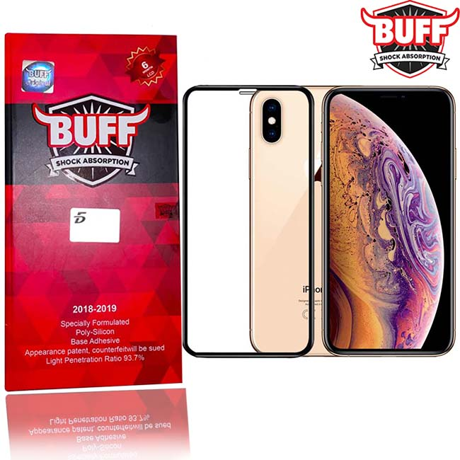 buy price apple iphone xs nax full coverage 5d buff labs screen protector گلس گوشی بوف