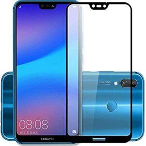 محافظ شیشه ای تمام چسب هواوی Full Glue Glass Huawei Nova 3e | P20 Lite