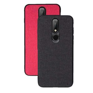 قاب طرح کتان نوکیا Protective Cotton Case Nokia X6 | 6.1 Plus