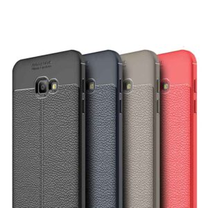 قاب محافظ سامسونگ Auto Focus Litchi Case | Galaxy j4 Plus