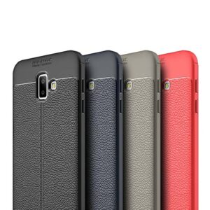 قاب محافظ سامسونگ Auto Focus Litchi Case Galaxy j6 Prime | j6 Plus