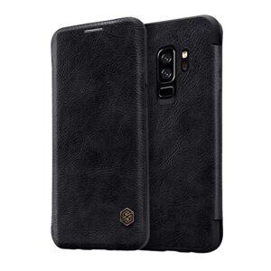 کیف محافظ نیلکین سامسونگ Nillkin Qin Series Filp Wallet Cover | Galaxy S9 Plus