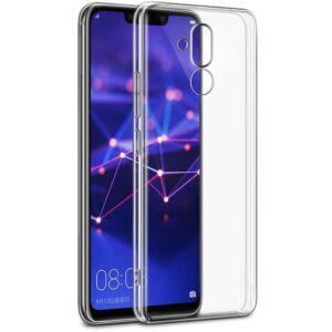 قاب محافظ ژله ای پشت طلقی هواوی Film Crystal Case | Huawei Mate 20 Lite