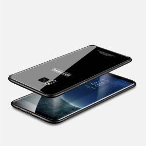 قاب محافظ پشت گلس سامسونگ Makavo Glass Cover | Galaxy S7 Edge