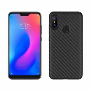 قاب فیبر کربنی شیائومی Remax Fiber Carbon Case Xiaomi Mi A2 Lite | Redmi 6 Pro