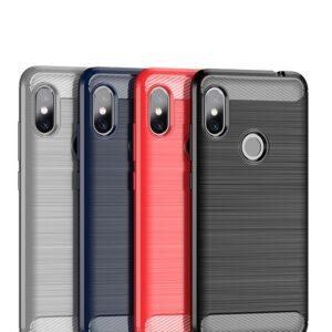 قاب اوریجینال فیبر کربن شیائومی Carbon Fiber Brushed Case | Xioami Redmi Note 6 Pro