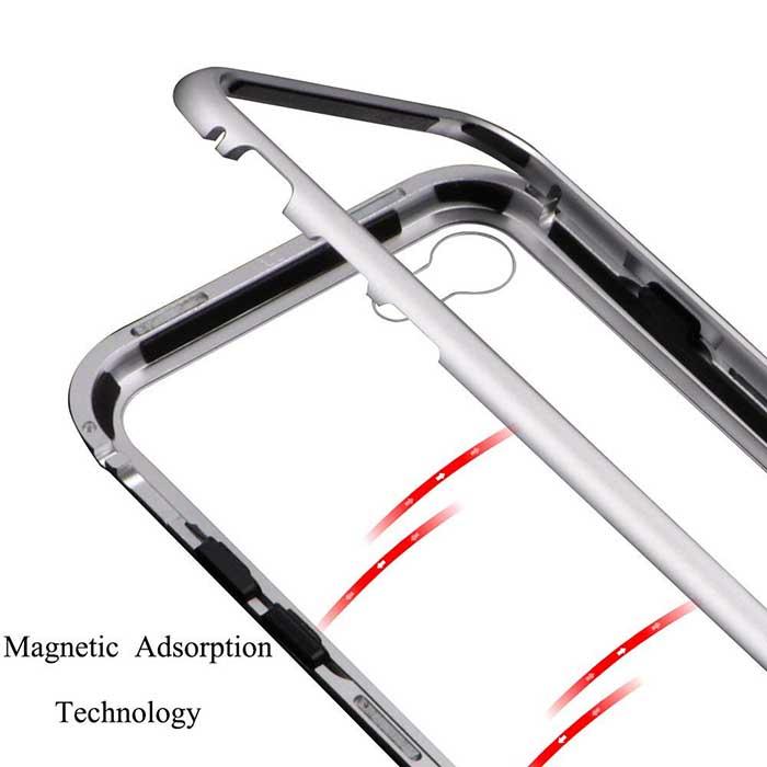 قاب محافظ مغناطیسی آیفون Nice Magnetic Metal Frame Case | iphone 6 Plus