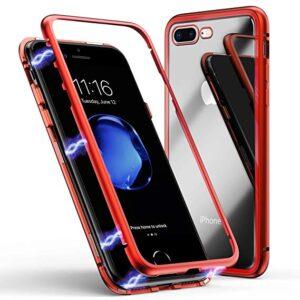 قاب محافظ مگنتی آیفون Magnetic Technology Metal Bumper Case | iphone 7 Plus