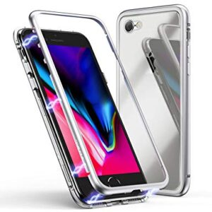 قاب محافظ مگنتی اپل Magnetic Adsorption Metal Bumper Case | iphone 8