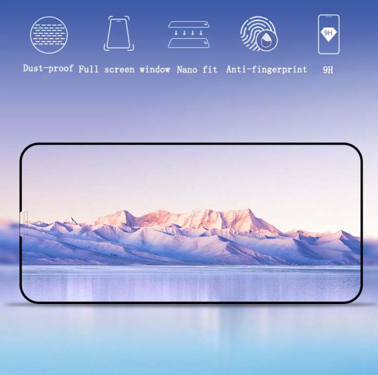 محافظ صفحه تمام چسب پوشش منحنی آیفون MB 5D Full Glass | iphone X
