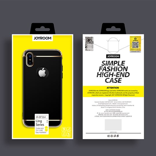 قاب محافظ جویروم اپل JOYROOM Ling Series 3-Part Case | iphone X