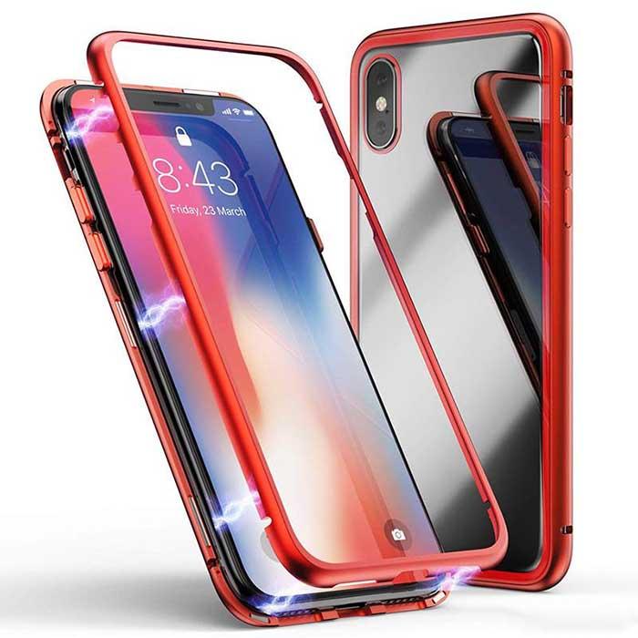 قاب محافظ مگنتی آیفون Magnetic Adsorption Technology Case   iphone XS