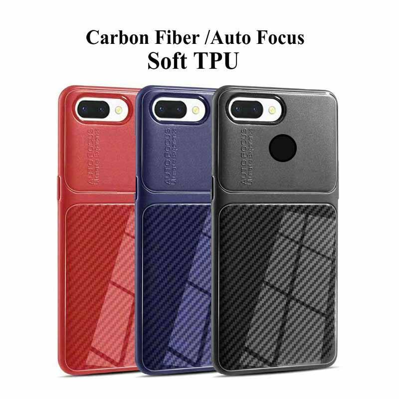 قاب فیبر کربن هواوی Auto Focus Soft Carbon Fiber Case Honor 7C   Enjoy 8