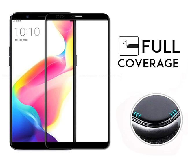 محافظ تمام چسب هواوی MB Full Coverage 5D Glass Honor 7C   Enjoy 8