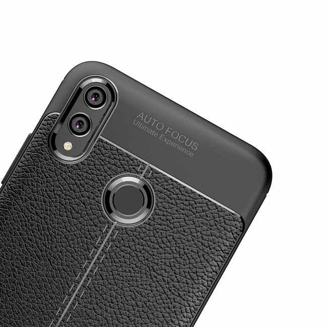 قاب محافظ آنر Auto Focus Leather Pattern Back Cover | Honor 8X Max