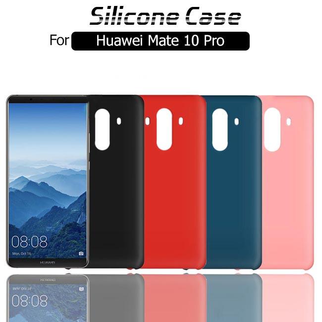 قاب محافظ سیلیکونی هواوی Soft Touch Liquid Silicone Cover | Huawei Mate 10 Pro