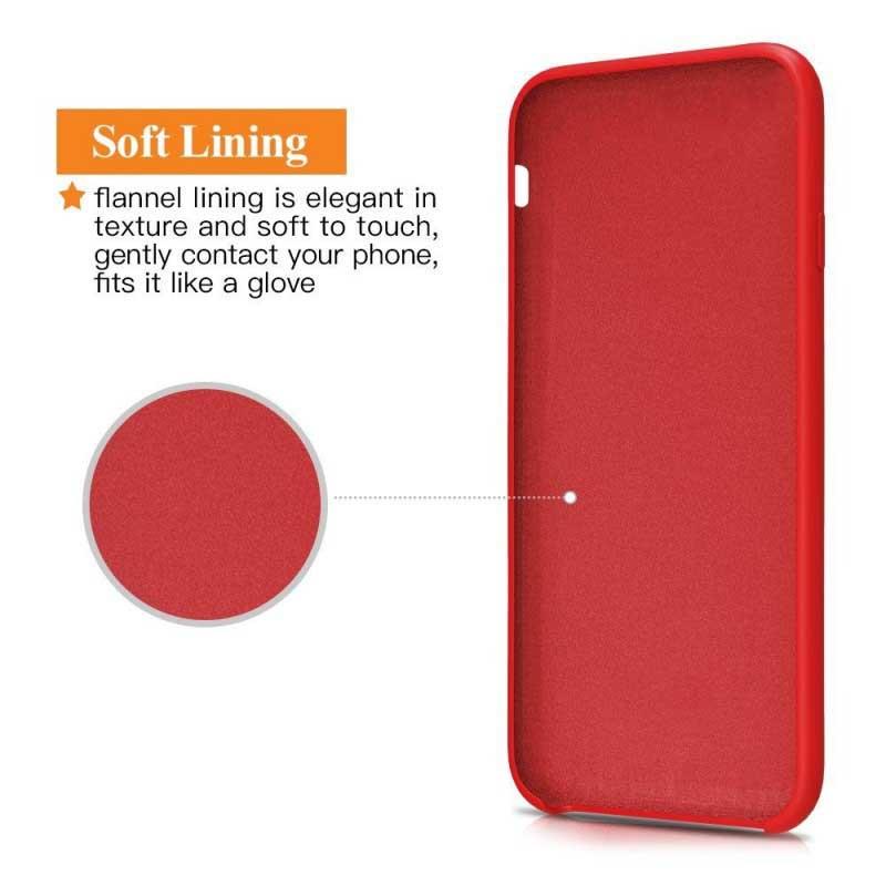 قاب محافظ سیلیکونی هواوی Soft Touch Liquid Silicone Cover | Huaewi Mate 10 Pro
