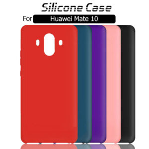 قاب سیلیکونی هواوی Soft Liquid Silicone Gel Rubber Case | Huawei Mate 10