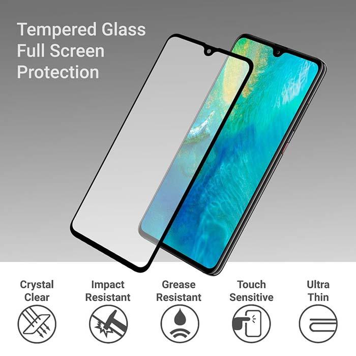 محافظ صفحه تمام چسب هواوی MB Full Glue 5D Glass   Huawei Mate 20