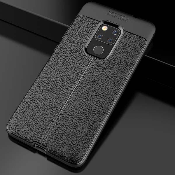 قاب محافظ طرح چرم هواوی Auto Focus Litchi Case | Huawei mate 20