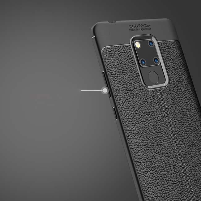 قاب محافظ اتوفوکوس هواوی Auto Focus Litchi Texture Cover | Huawei Mate 20 X