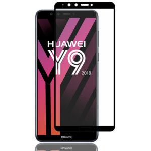 محافظ صفحه نمایش تمام چسب هواوی MB 5D Full Glass Huawei Y9 2018   Enjoy 8 Plus