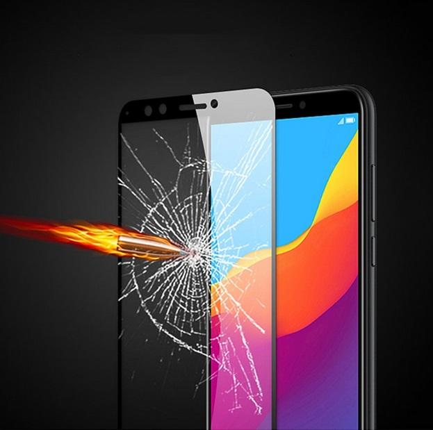محافظ صفحه نمایش تمام چسب هواوی MB 5D Full Glass Huawei Y9 2018 | Enjoy 8 Plus