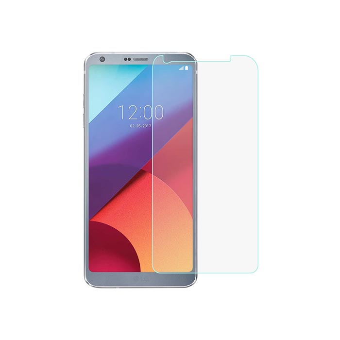 محافظ صفحه نمایش شیشه ای الجی JMC Tempered Screen Protector Glass | LG G6