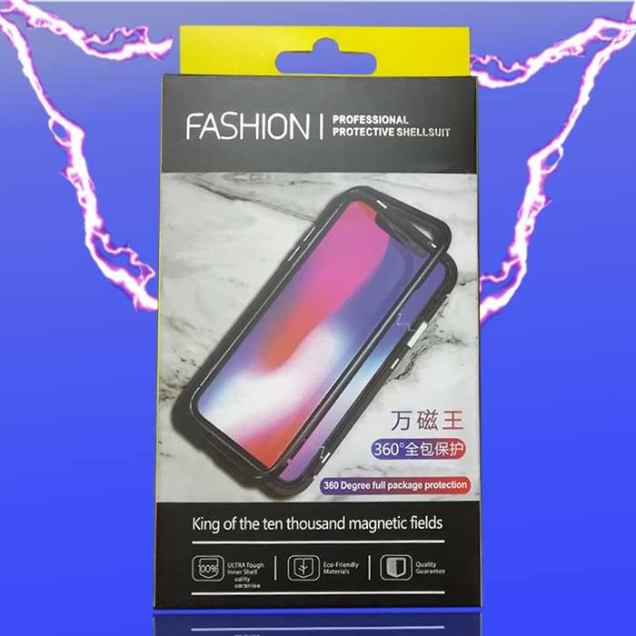 قاب آهنربایی اپل Magnetic Adsorption Metal Frame Case | iphone XS Max