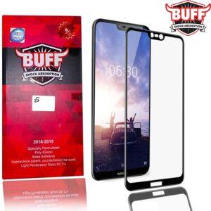 محافظ صفحه بوف نوکیا BUFF 5D Full Coverage Glass Nokia X6 | 6.1 Plus
