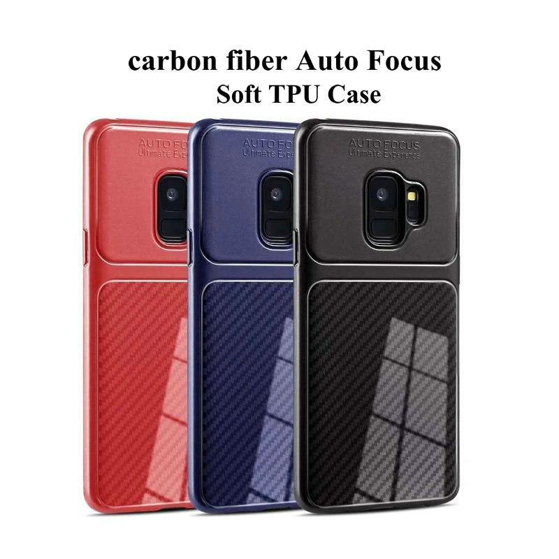 قاب فیبر کربن سامسونگ Auto Focus Soft Carbon Fiber Case | Galaxy A6 2018