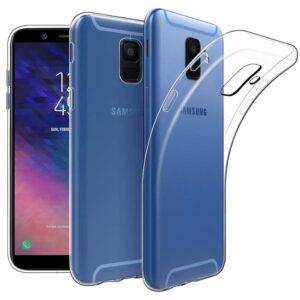 قاب محافظ ژله ای شفاف سامسونگ USAMS Transparent Case | Galaxy A6 2018