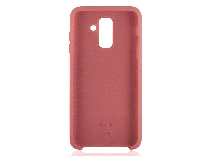 قاب سیلیکونی سامسونگ Soft Liquid Flexible Silicone Cover | Galaxy A6 Plus 2018