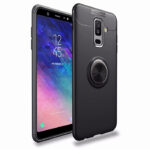 buy price samsung galaxy a6 plus 2018 soft tpu metal magnetic finger ring holder stand case قاب گوشی