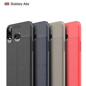 قاب محافظ اتو فوکوس سامسونگ Auto Focus TPU Leather Case   Galaxy A6s