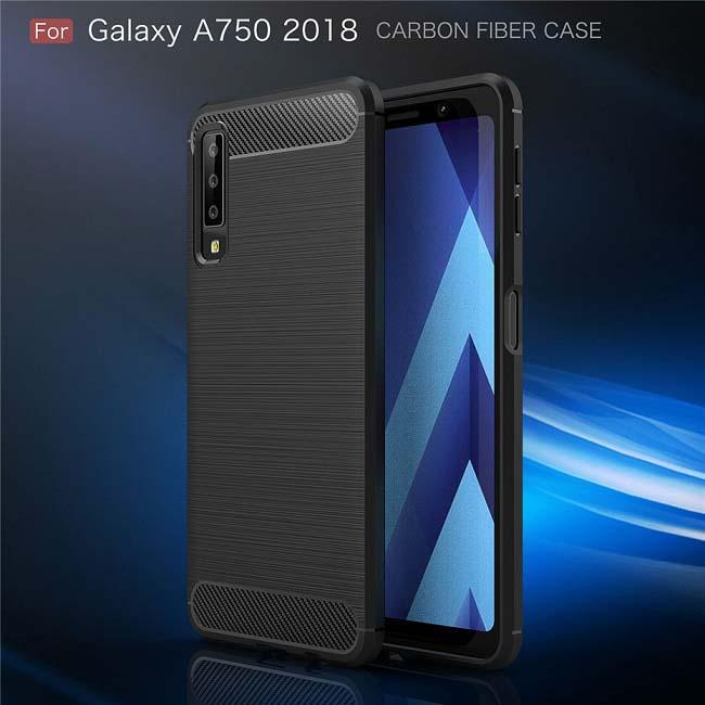قاب محافظ اوریجینال سامسونگ Silicone Rugged Armor Case Galaxy A7 2018 | A750