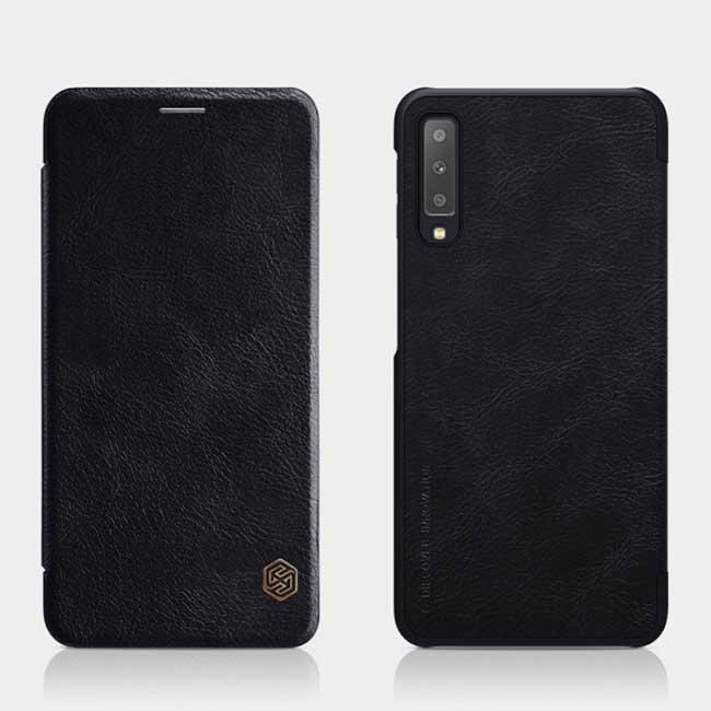 کیف نیلکین سامسونگ Nillkin Qin Series Flip Cover Galaxy A750 | A7 2018