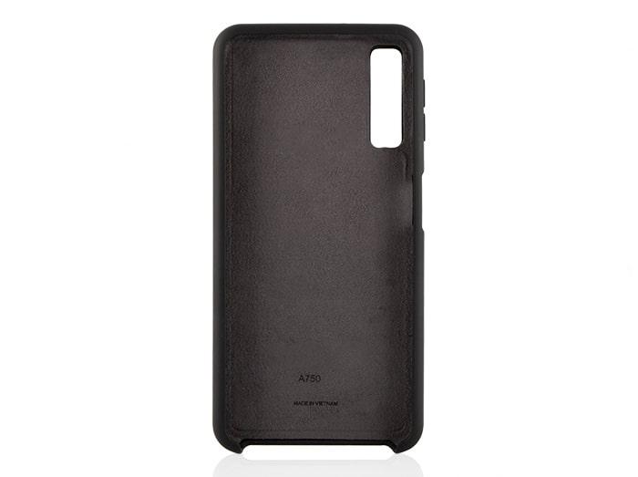 قاب محافظ سیلیکونی سامسونگ Soft Touch Liquid Silicone Cover Galaxy A7 2018   A750