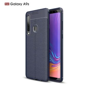 قاب طرح چرم سامسونگ Auto Focus Litchi Case Galaxy A9 2018 | A9s | A9 Star Pro