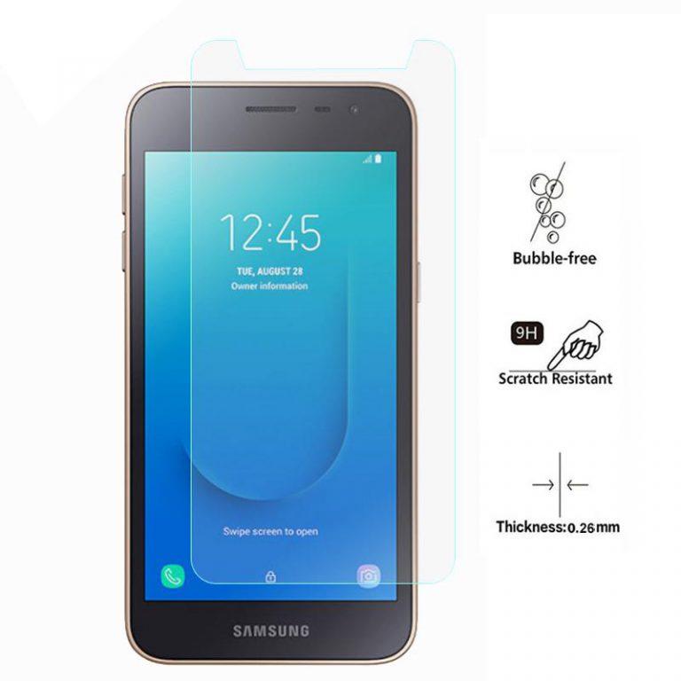 محافظ صفحه نمایش شیشه ای Screen Protector Tempered Glass   Galaxy j2 Core 2018