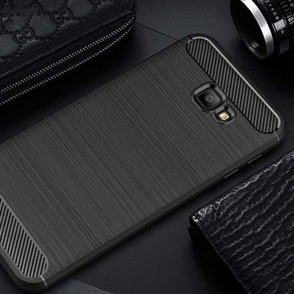 قاب اوریجینال فیبر کربن سامسونگ Brushed Rugged Armor Case Galaxy j4 Plus | j4 Prime