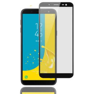 محافظ صفحه نمایش تمام چسب سامسونگ MB Full Coverage 5D Glass | Galaxy j6 2018