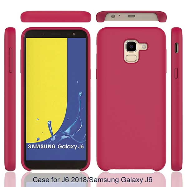 قاب سیلیکونی اوریجینال سامسونگ Soft Liquid Silicone Rubber Cover | Galaxy j6 2018