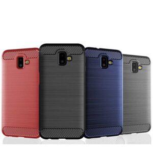 قاب محافظ اوریجینال سامسونگ Silicone Rugged Armor Case | Galaxy j6 plus