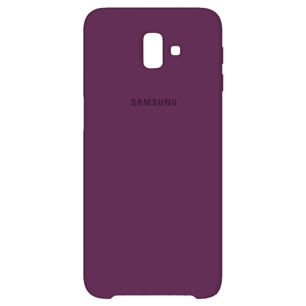 قاب محافظ سیلیکونی سامسونگ Soft Liquid Flexible Silicone Cover | Galaxy j8 2018