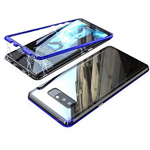 قاب دو تکه مگنتی سامسونگ Magnetic Adsorption Metal Bumper Case | Galaxy Note 8 |