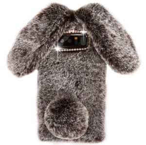 قاب محافظ خزدار سامسونگ Kissacase Rabbit Fur Case | Galaxy Note 8