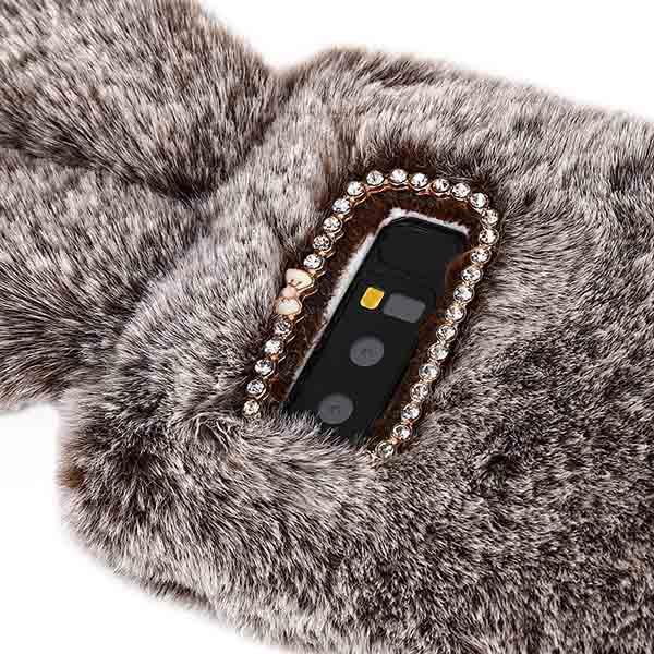 قاب محافظ خزدار سامسونگ Kissacase Rabbit Fur Case   Galaxy Note 8